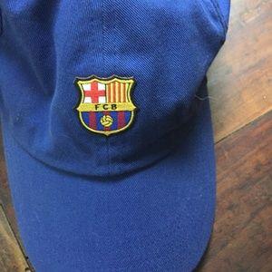Barcelona FCB baseball hat